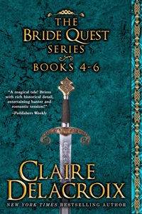 The Bride Quest II Boxed set, a digital bundle including books #4 to 6 in the Bride Quest series of medieval romances by Claire Delacroix