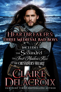 Heartbreakers: Three Medieval Bad Boys, a digital bundle from Claire Delacroix
