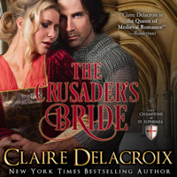 The Crusader's Bride, #1 of the Champions of St. Euphemia series of medieval romances by Claire Delacroix is also available in audio