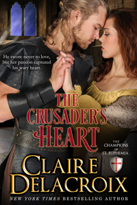 The Crusader's Heart, #2 of the Champions of St. Euphemia series of medieval romances by Claire Delacroix