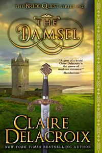 The Damsel, #2 of the Bride Quest series of medieval romances by Claire Delacroix
