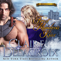 The Frost Maiden's Kiss, #3 of the True Love Brides series of medieval Scottish romances by Claire Delacroix is also available in audio