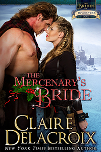 The Mercenary's Bride, #1 of the Brides of Inverfyre series of medieval Scottish romances