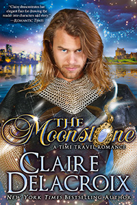 The Moonstone, a time travel romance and romantic comedy by Claire Delacroix