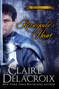 The Renegade's Heart, #1 of the True Love Brides series of medieval Scottish romances by Claire Delacroix
