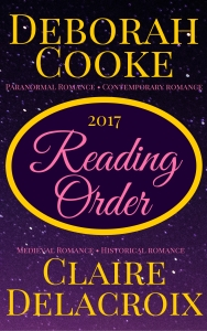 REading Order for Claire Delacroix and Deborah Cooke's books, 2017 edition