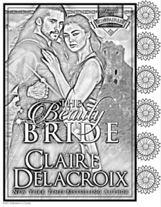 The Beauty Bride, book #1 of the Jewels of Kinfairlie series of medieval romances by Claire Delacroix