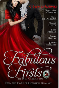 Fabulous Firsts: The Red Collection, a digital boxed set of first-in-series historical romances from the Jewels of Historical Romances