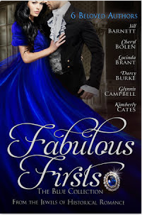 Fabulous Firsts: The Blue Collection, a digital boxed set of first-in-series historical romances from the Jewels of Historical Romances