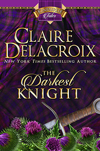 The Darkest Night, a medieval romance and book #1 of Kinfairlie Tales by Claire Delacroix