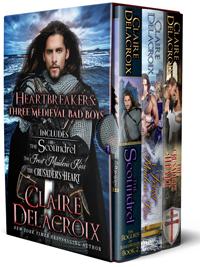 Heartbreakers a digital boxed set of medieval romances by Claire Delacroix