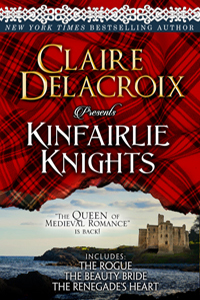 Kinfairlie Knights, a digital bundle of three medieval Scottish first-in-series romances by Claire Delacroix