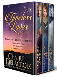 Timeless Loves, a time travel romance boxed set by Claire Delacroix