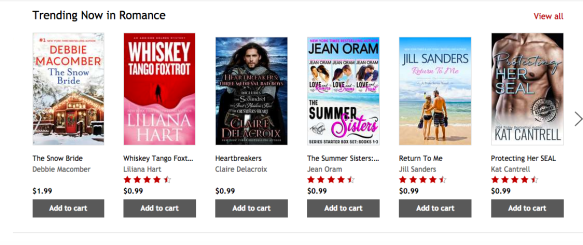Heartbreakers by Claire Delacroix, trending now in romance at Kobo on July 27, 2018