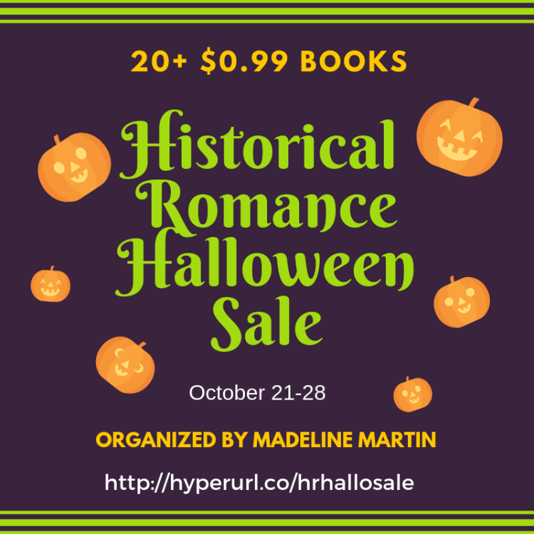 Madeline Martin's 99¢ Halloween Romance Sale October 2018