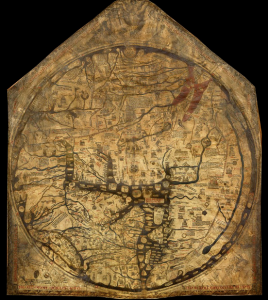 The Hereford Mappa Mundi ca 1300