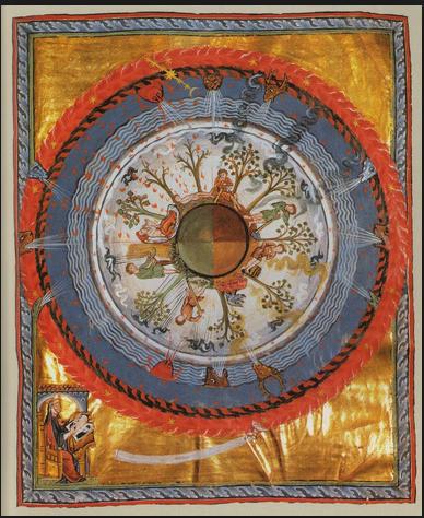 Hildegarde von Bingen's Cosmic Tree