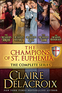 The Champions of St. Euphemia Boxed Set including the entire series of medieval romances by Claire Delacroix