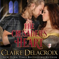 The Crusader's Heart, book two of the Champions of St. Euphemia series of medieval romances by Claire Delacroix, in audio, narrated by Tim Gerard Reynolds