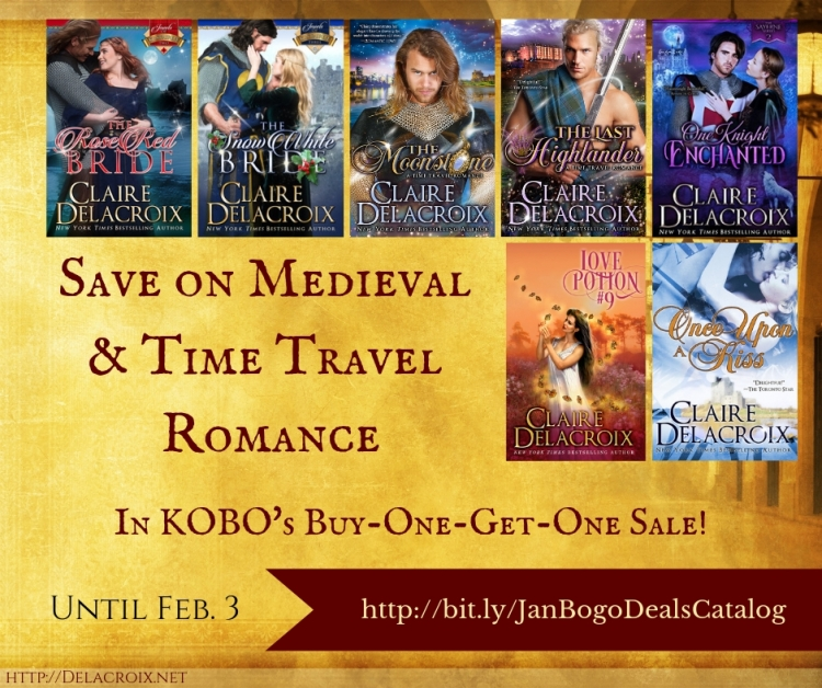 Save on Knights & Rogues in Kobo's BOGO Sale!
