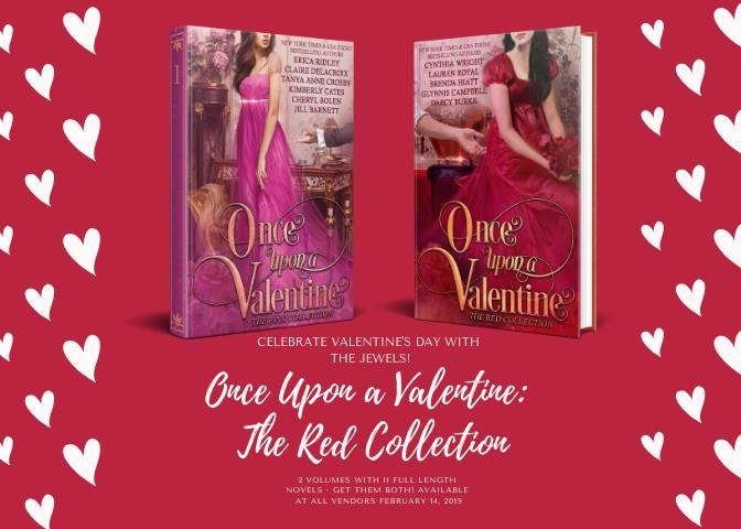 The Jewels of Historical Romance Once Upon a Valentine's Day collections, two digital boxed sets of historical romances