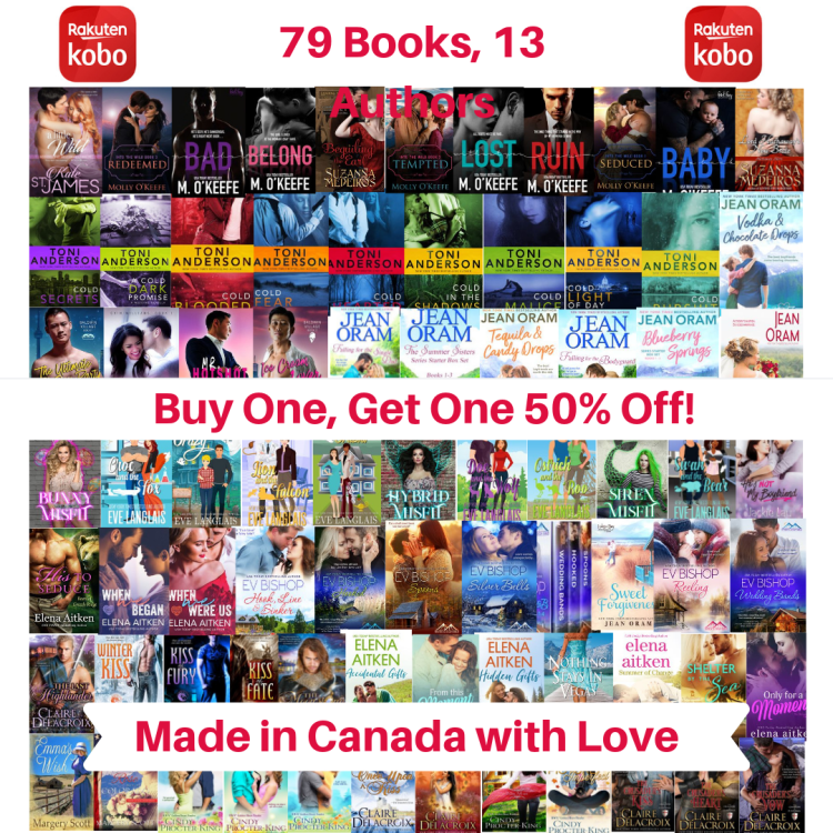 Made in Canada with Love sale at Kobo June 2019