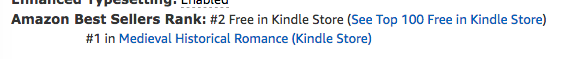 The Princess, book 1 of the Bride Quest series of medieval romances by Claire Delacroix at #1 in medieval romance and #2 overall free in the Kindle store on June 17, 2019