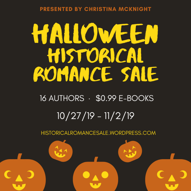 99¢ Halloween Historical Romance Sale