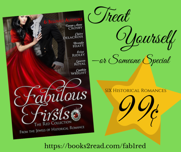 Jewels of Historical Romance Fabulous Firsts Red Collection