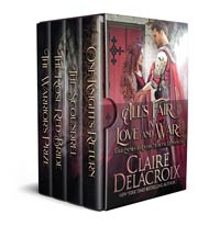 All's Fair in Love and War: Four Enemies-to-Lovers Medieval Romances by Claire Delacroix
