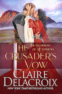 The Crusader's Vow, book four of the Champions of St. Euphemia series of medieval romances by Claire Delacroix