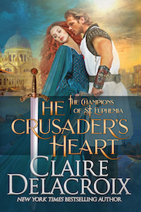 The Crusader's Heart, book two of the Champions of St. Euphemia series of medieval romances by Claire Delacroix
