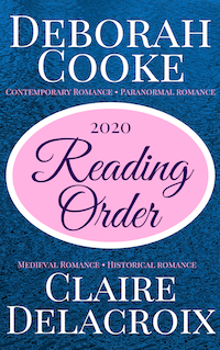 reading guide for Deborah Cooke and Claire Dealcroix books, 2020 edition