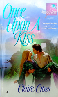 Once Upon a Kiss, a paranormal romance by Claire Cross, original mass market edition