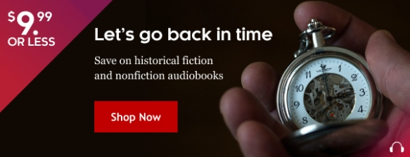Sale on historical fiction and historical romance audiobooks at KOBO November 2020