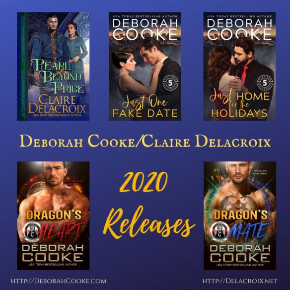 Deborah Cooke and Claire Delacroix's 2020 releases