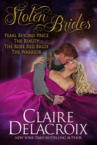 Stolen Brides, a boxed set of four medieval romances by Claire Delacroix