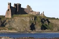 Tantallon Castle from the sea