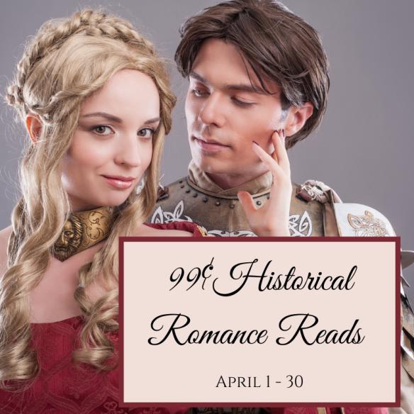 April 99¢ Historical Romance Reads BookFunnel Promotion