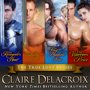 The True Love Brides Boxed Set of medieval Scottish romances by Claire Delacroix, narrated by Saskia Maarleveld