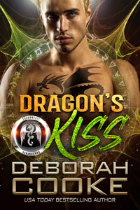 Dragon's Kiss, book one of the DragonFate series of paranormal romances by Deborah Cooke