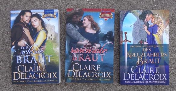 Claire Delacroix medieval romances in German