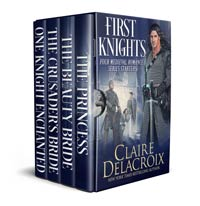 First Knights, a digital bundle of four medieval romance series starters by Claire Delacroix