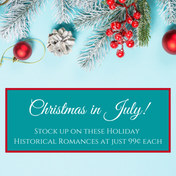 Christmas in July BookFunnel promotion