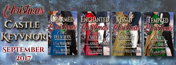 Christmas at Castle Keyvnor, a Regency romance holiday anthology in four volumes